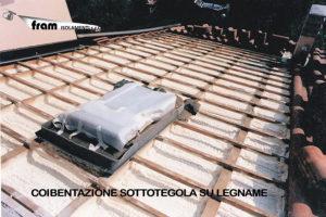 Coibentazione tetto in legno