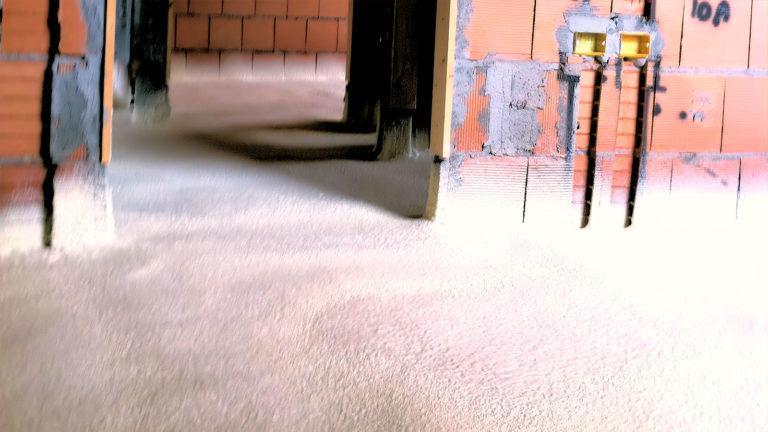 Isolamento termico sottopavimentazione