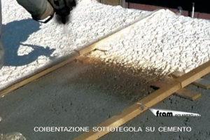 Isolamento tetto sottotegola in cemento