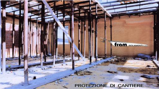 Isolamento e protezione cantieri con poliuretano