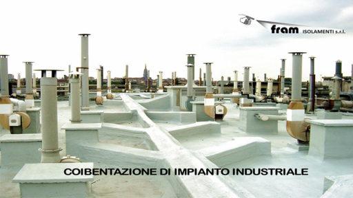 Isolamento termico impianto industriale