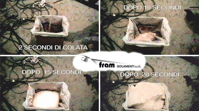 Comportamento schiuma poliuretanica
